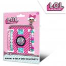 LOL Surprise orologio digitale con bracciali