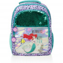 Disney Backpack with sequin reversible 40 cm Ariel
