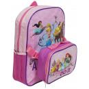 Großhandel Taschen: Princess rucksack mit lunchbox