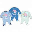 Peppa Pig baby sleepsuits