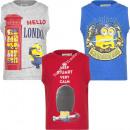 Minions t-shirt sleeveless