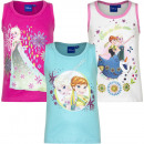 grossiste Articles sous Licence: La Reine de neiges - Frozen t-shirt sans manches