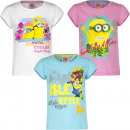 Minions t-shirts for girls