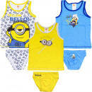 Minions underwear set Yellow bello