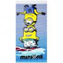 hurtownia Produkty licencyjne: Minions welur ręcznik plażowy