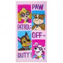 Paw Patrol sammet strandtuch