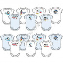 Mickey 7 pack baby bodysuits