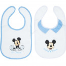 grossiste Vetements enfant et bebe:Mickey Set de 2 bavoirs