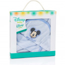 Mickey Mouse baby bathcape with washcloth