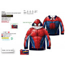Spiderman cipzáras kapucnis pulóver