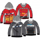 Cars hoodie with zipper