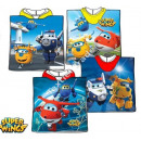 Super Wings Poncho de playa con capucha