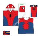Spiderman Hooded poncho velour