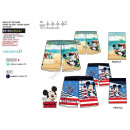 Mickey Mouse swim shorts beach lighthouse