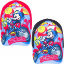 Mickey Mouse caps Mickey on bike