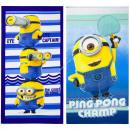wholesale Towels: Minions beach towel microfiber