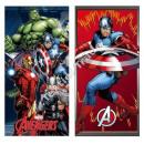 Großhandel Lizenzartikel: Avengers strandtuch microfraser
