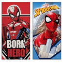Spiderman velour beach towel