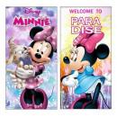 Minnie strandtuch microfraser