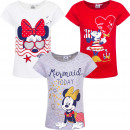 Minnie Mouse t-shirt Marin with glitter