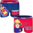 Fireman Sam pływać bokser