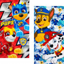 wholesale Licensed Products: Paw Patrol beach towel microfiber Mighty Pups