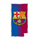 F.C. Barcelona velour beach towel