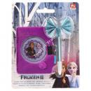 Frozen 2 Disney Diary Plush with Pen Sisters