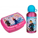 Frozen Disney aluminium bottle with lunchbox Froze