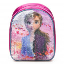 wholesale Licensed Products: Frozen 2 Disney Backpack with sequin reversible 24