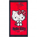 wholesale Towels: Hello Kitty velour beach towel