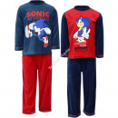 Sonic terciopelo Pijama