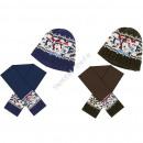 Mickey neonati berretto con sciarpa