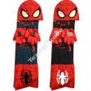 Spiderman berretto con sciarpa e guanti