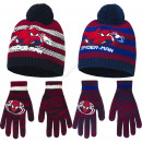 Spiderman hats and gloves