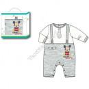 wholesale Underwear:Mickey baby body Grey