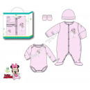 grossiste Articles sous Licence: Minnie ensemble 4 pieces Newborn