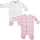 Paw Patrol baby sleepsuits Newborn Pink / Offwhite