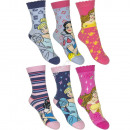 Princesas 3 pack calcetines