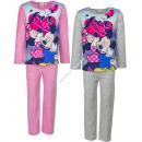 Minnie schlafanzug sammet