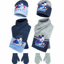 Mickey baby hat and scarf