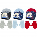 Mickey baby hats and gloves 3 colors