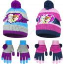 frozen czapka z rękawiczką