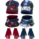 Star Wars hat and Turtleneck Scarf and gloves