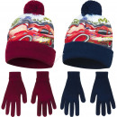 Cars hats and gloves