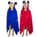 Mickey Mouse fleece hoodie blanket