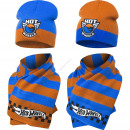 Hot Wheels hat and scarf