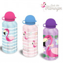 Großhandel Haushaltswaren: Flamingo Aluminium flasche
