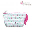 Toilet bag / Make-up bag Flamingo Look 22 Cm