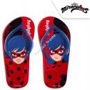 Miraculous Ladybug flip flops